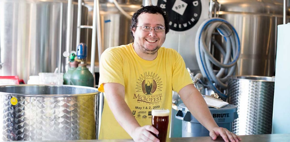 Drew Huerter (pictured) is chief brewer at BrainDead Brewing in Deep Ellum.