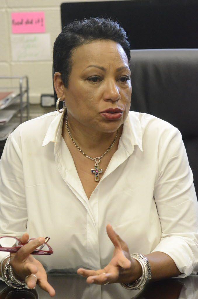Cynthia Wilson, DISD's new chief of human capital management.