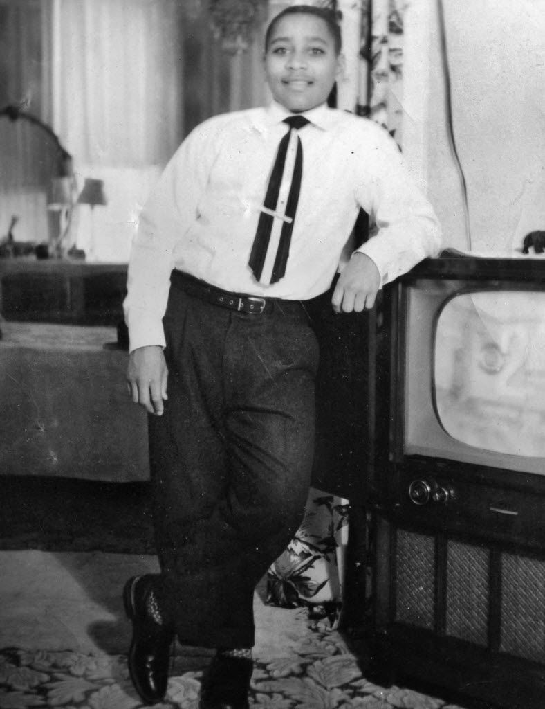This photo provided by his family shows Emmett Till in Chicago, about six months before he was killed.
