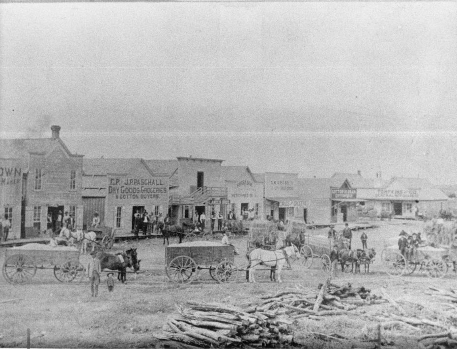 Early Mesquite, 1800s