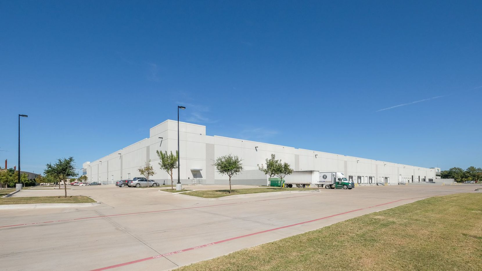 The new fulfillment center is in the Prologis Park 35 business park.