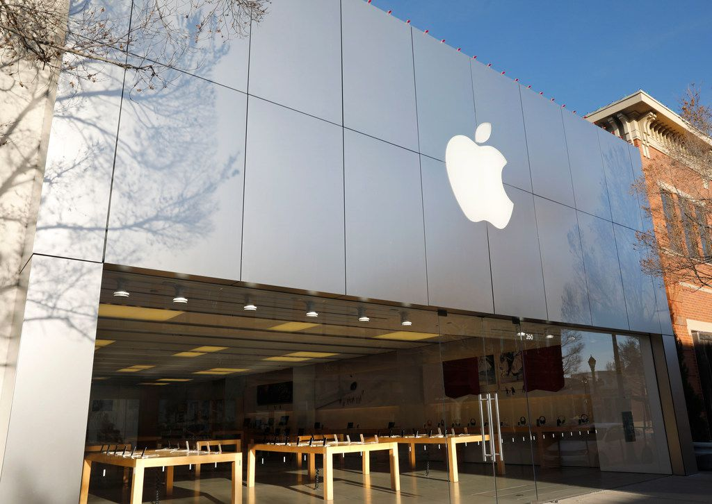 Apple store located at Southlake Town Square.