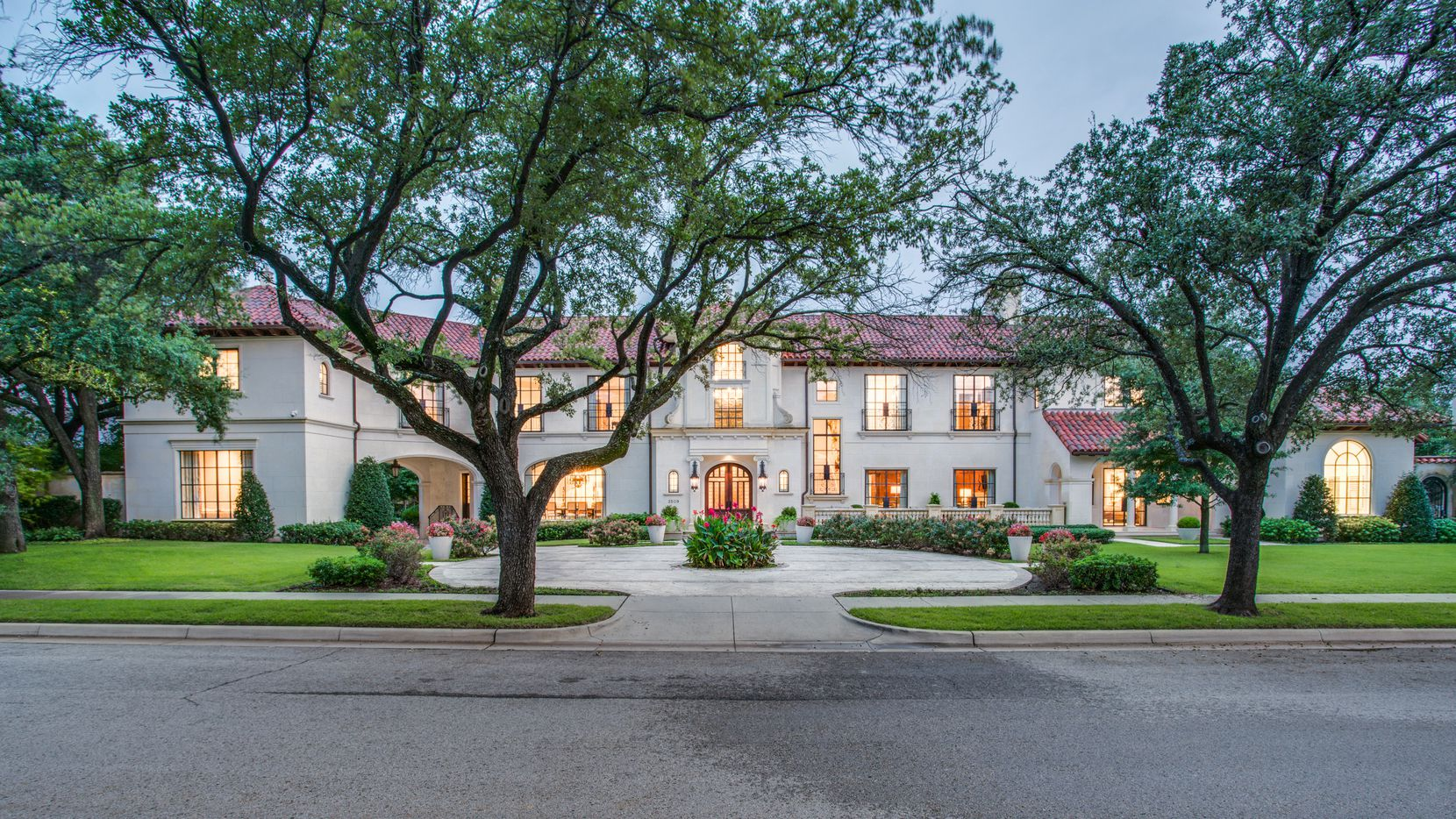 Priced at $16.75 million, this seven-bedroom home on Euclid Avenue is the most expensive on the market in the Park Cities.