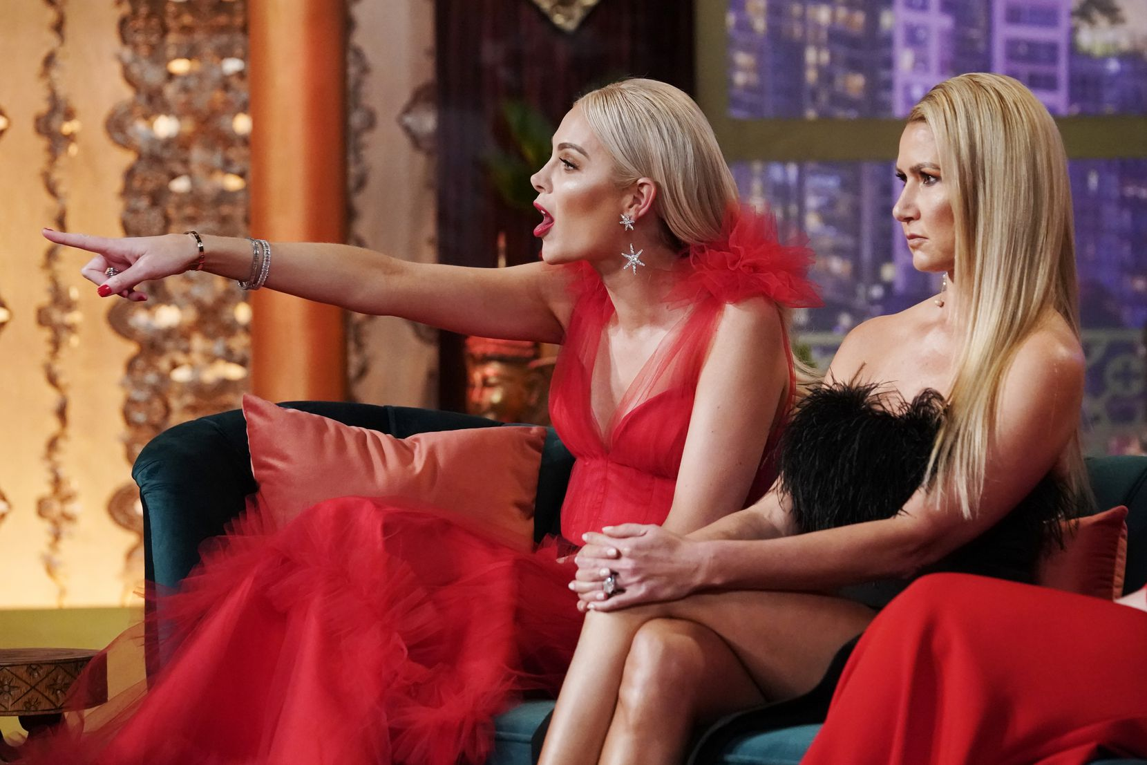 There was plenty of finger-pointing on the second finale of 'The Real Housewives of Dallas,' which aired Jan. 8, 2020.