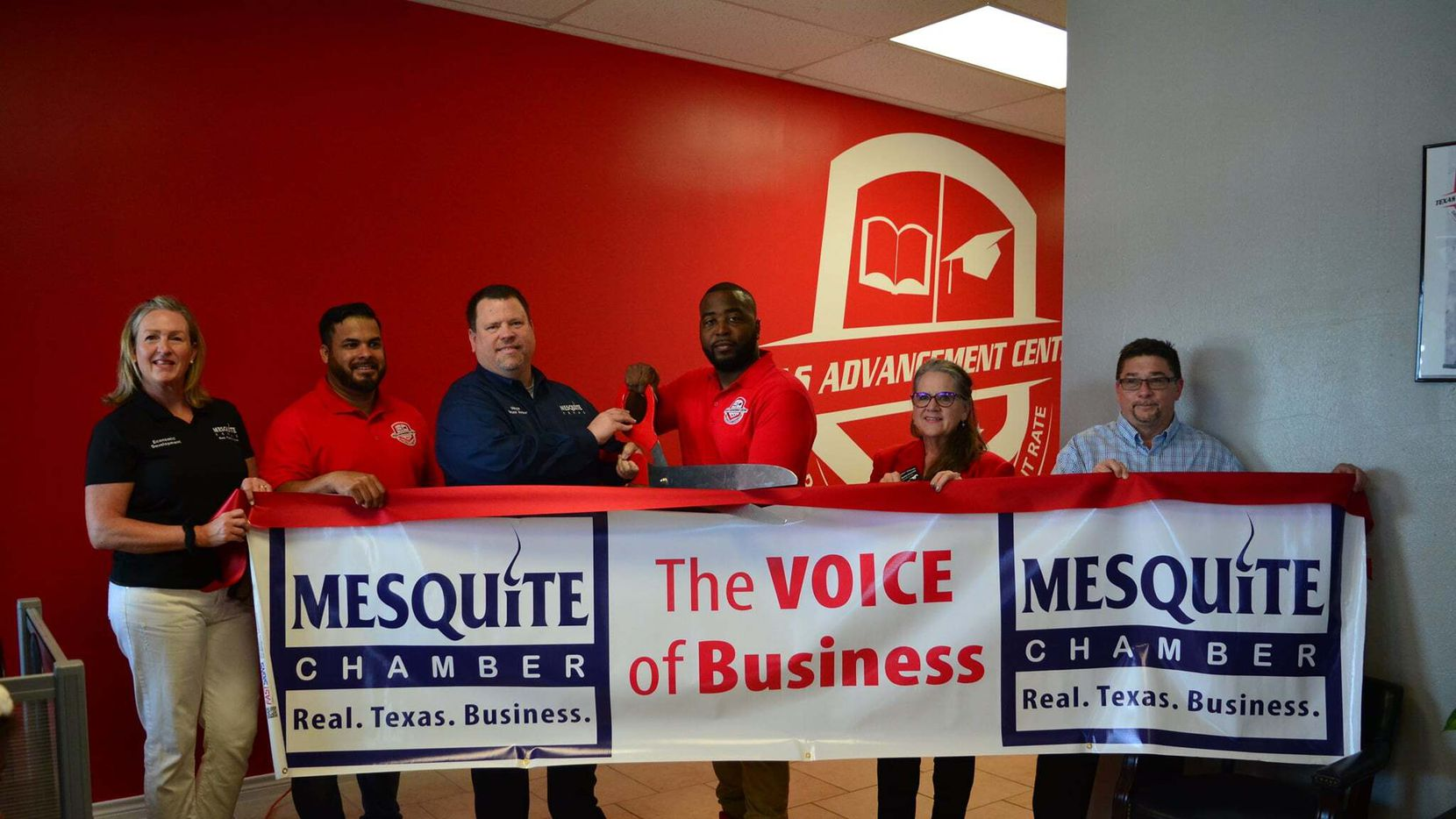 The Texas Advancement Center celebrated its grand opening in Mesquite last weekend, offering free education and job training to qualified adults 17 and older. (Courtesy Texas Advancement Center)