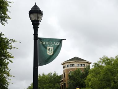 Southlake Town Square in Southlake, Texas Tuesday, June 23, 2020. (Tom Fox/The Dallas Morning News)