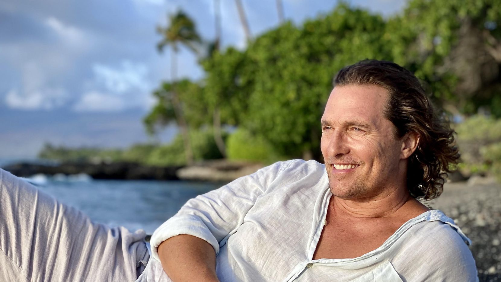 "Matthew McConaughey recounts his upbringing in the memoir ""Greenlights,"" his first book."