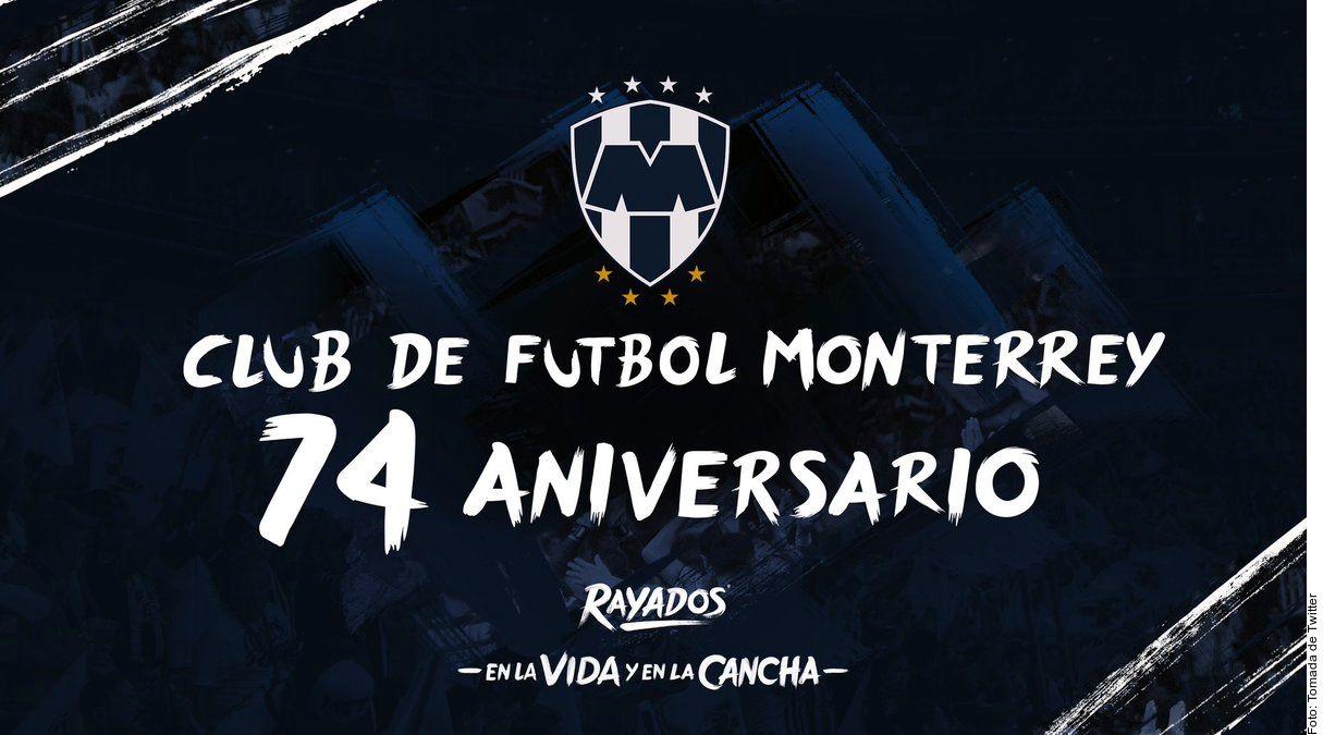 Rayados de Monterrey cumple 74 años desde su fundación. Foto Agencia Reforma