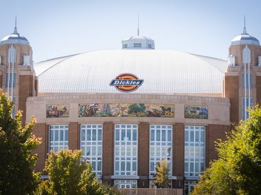 Exterior view of Dickies Arena in Fort Worth on Oct. 21, 2019. (Robert W. Hart/Special Contributor)