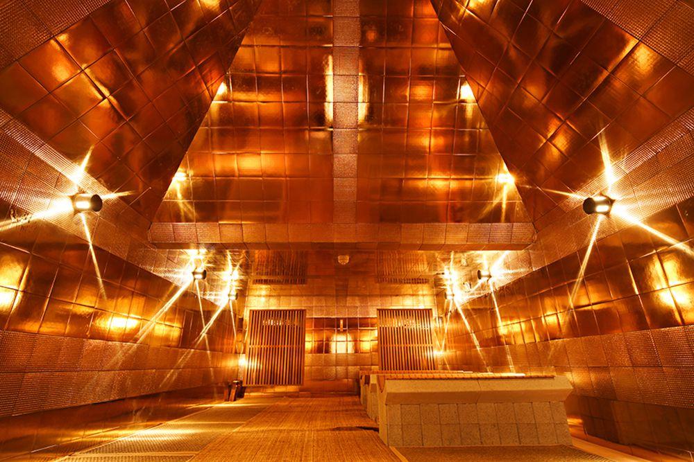 Spa Castle's Gold Pyramid