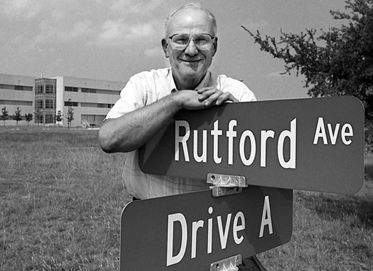 In 1994, Robert Rutford had a street named after him on the campus in honor of his leadership and scientific research at the university.