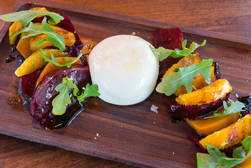 Laurel Tavern serves trendy dishes like beets and burrata.