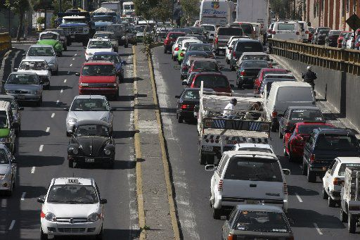 Mexico City wasn't even listed as one of the most congested cities in North America. That's because the organization that studies traffic lumped it in with South America.