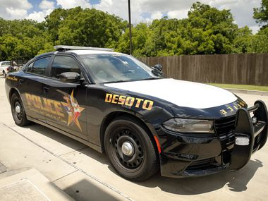 A DeSoto, Texas police car is pictured in this file photo.