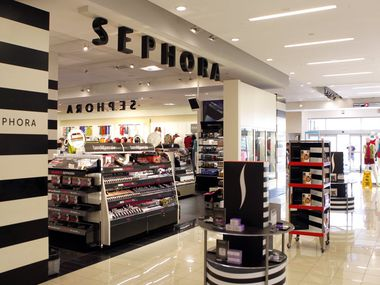 A Sephora shop at J.C. Penney Timber Creek Crossing in Dallas.