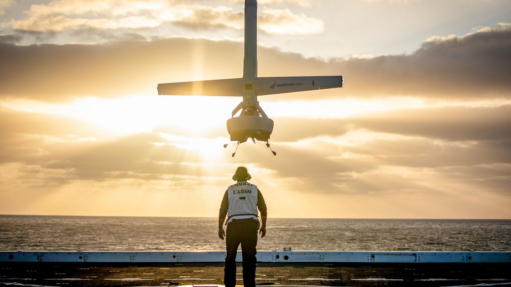 Martin UAV's V-BAT unmanned aircraft will be integrated with Shield AI's autonomy software.
