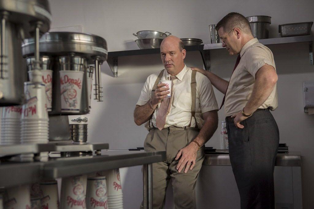 John Carroll Lynch, izq., y Nick Offerman en 'The Founder'. Foto: The Weinstein Company