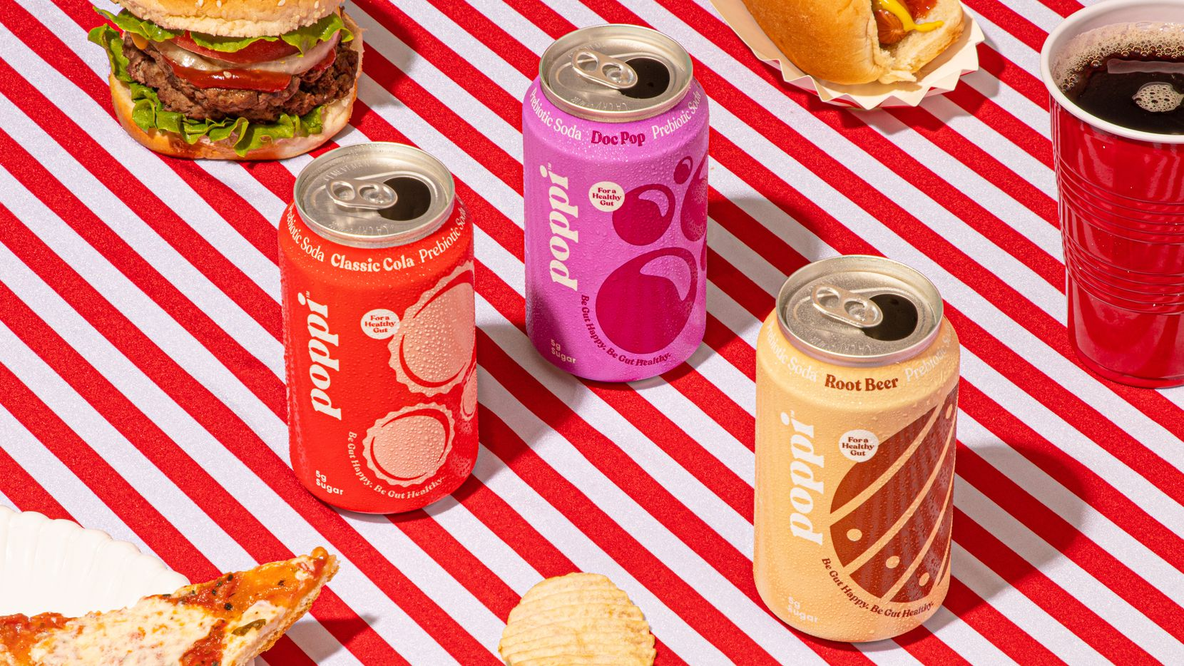Poppi drinks has launched a new Classics line of sodas.