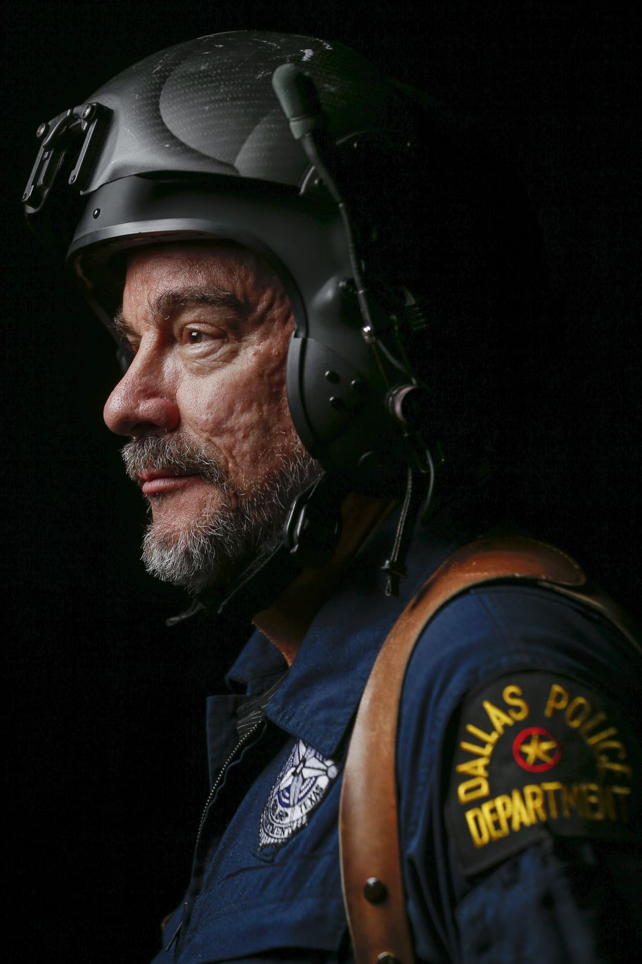 Senior Cpl. Mark Colborn, a former Army pilot, is the helicopter unit's unofficial photographer and its longest-serving member.