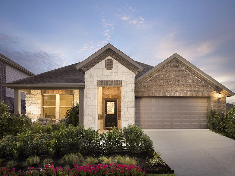 Meritage Homes builds in more than 20 residential communities in North Texas.