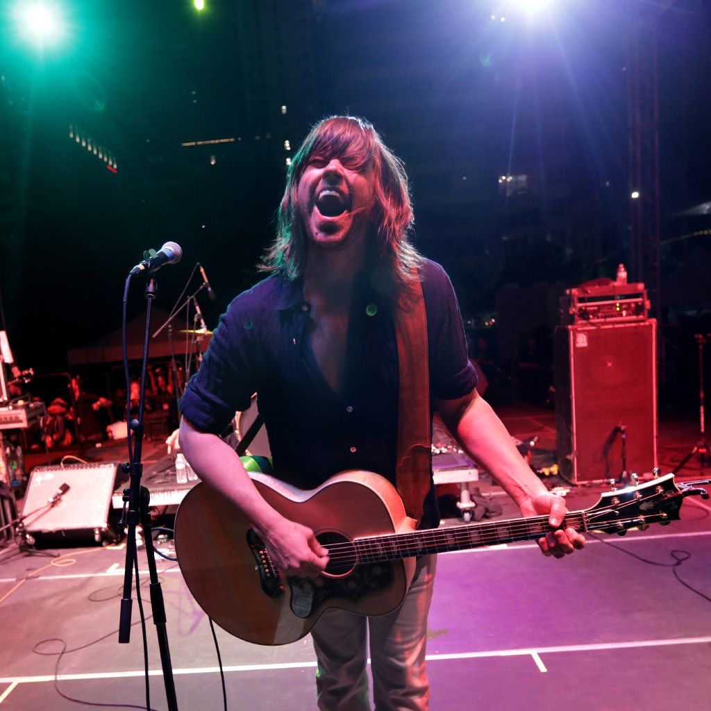 Rhett Miller performs with Old 97's.