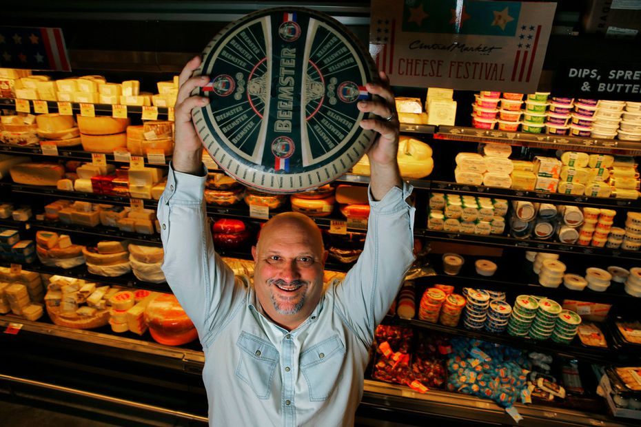 Or, Just ask SportsDay writer Evan Grant for a recommendation. He loves Central Market's Beemster cheese a lot.