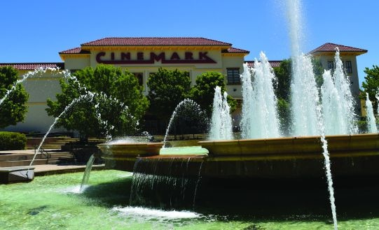 The Harbor includes a Cinemark Theater.