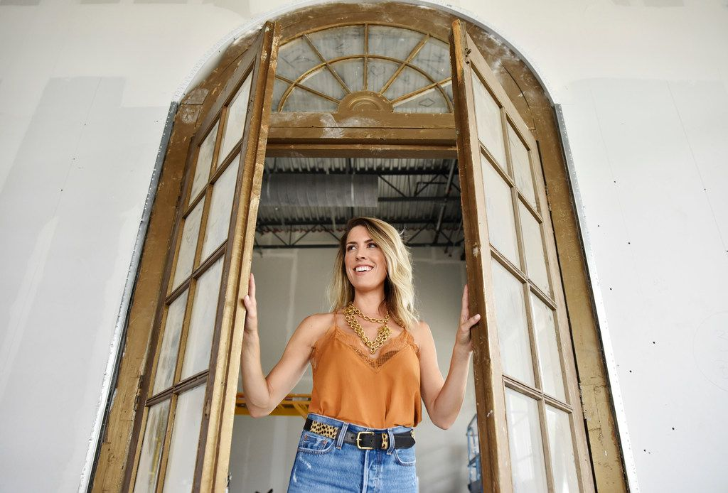 Brittany Cobb, owner of Deep Ellum clothing boutique Flea Style, is preparing to open her second retail location at The Star in Frisco.