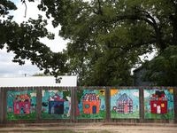 A federal judge said Thursday her efforts to root out slipshod foster care operations in Texas was necessary, and she dismissed providers' suggestions that her edicts are responsible for a current bed shortage. 2017 File Photo of art by foster children at Austin's Helping Hand Home.