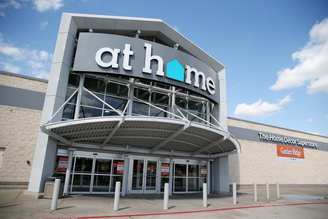 The Lewisville Garden Ridge was the first D-FW area conversion, becoming an At Home store earlier this month. More in the area will be converted by September.