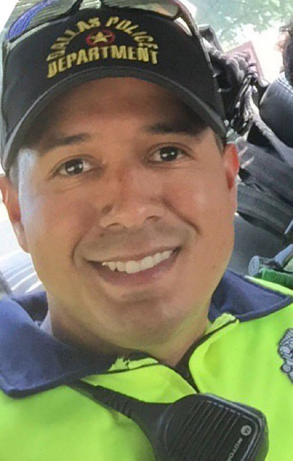 Dallas police officer Patrick Zamarripa, 32.
