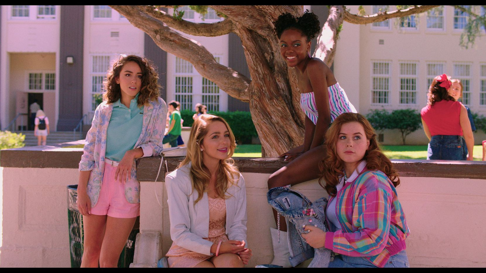 Chloe Bennet, Jessica Rothe, Ashleigh Murray and Jessie Ennis star in the new movie, Valley Girl, written by Dallas' own Amy Talkington.