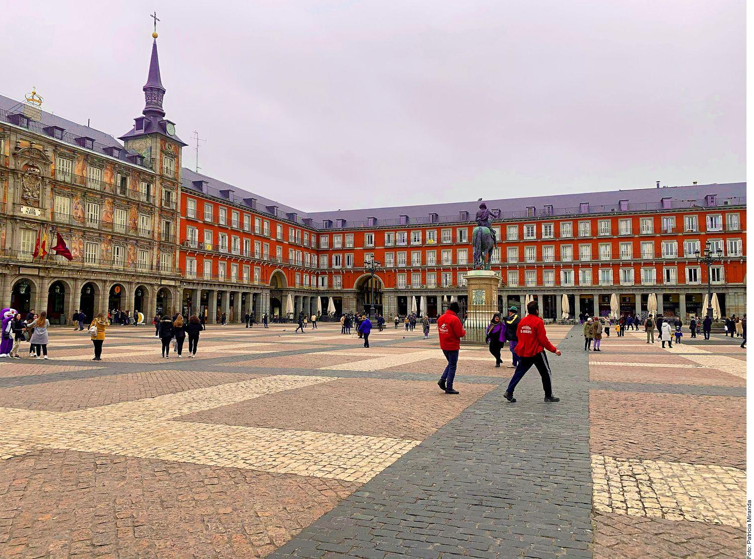 La Plaza Mayor de Madrid