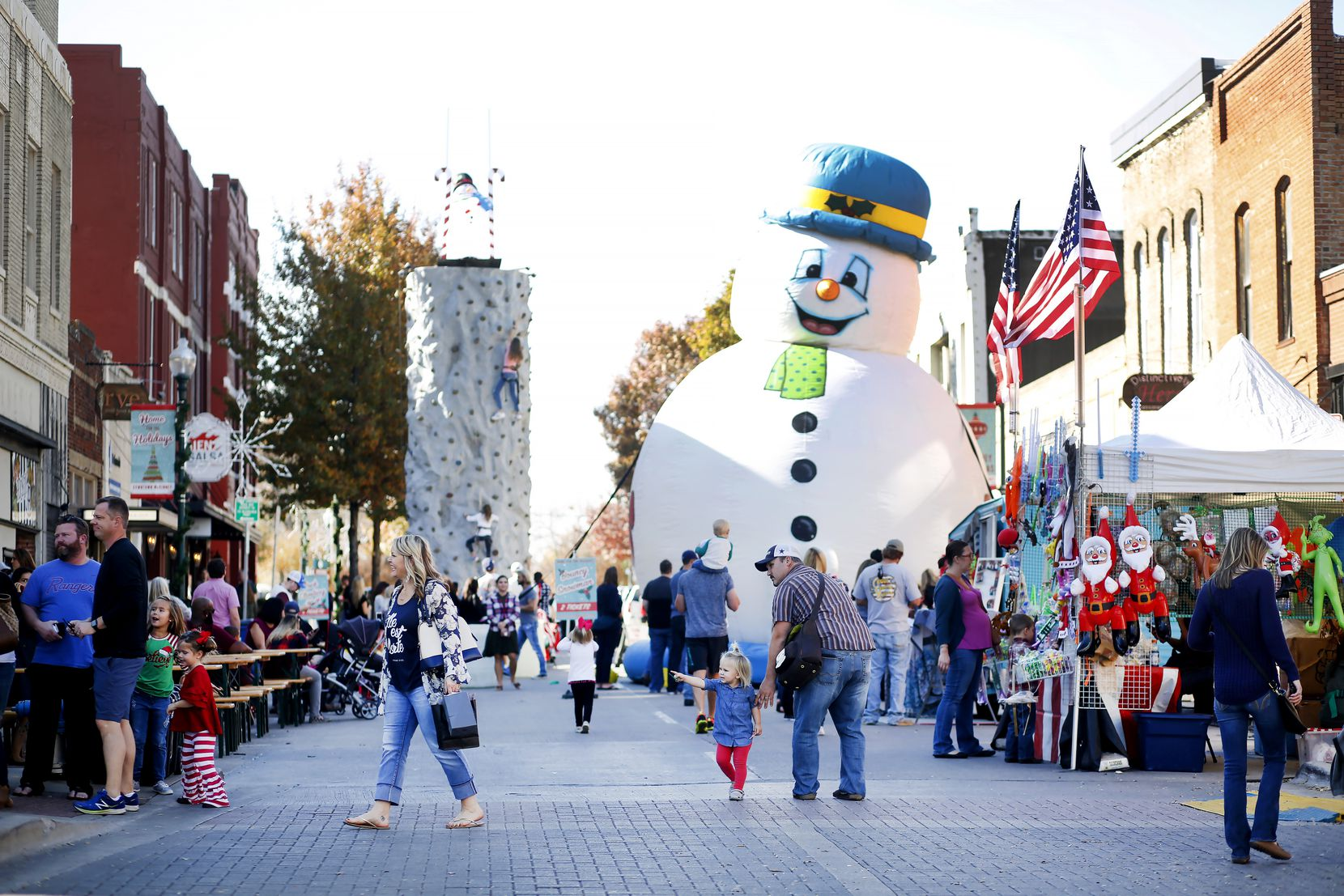 McKinney's annual Home for the Holidays celebration will run Nov. 29-Dec. 1 around the downtown square.