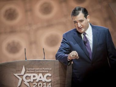 Texas Sen. Ted Cruz, speaking at the Conservative Political Action Conference in National Harbor, Md., on March 6, 2014, bashed Barack Obama and said the Federal Reserve needs to be audited.