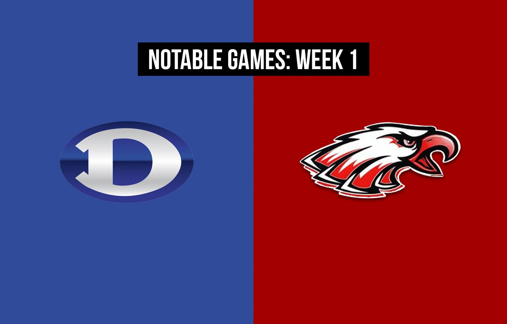 Notable games, Week 1 of the 2020 season: Decatur vs. Argyle.