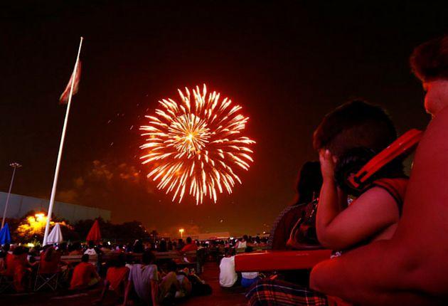 Lista de eventos para celebrar el 4 de Julio en el Metroplex./ (Nathan Hunsinger/The Dallas Morning News)