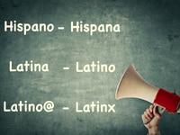 Términos para describir un persona de origen latina.