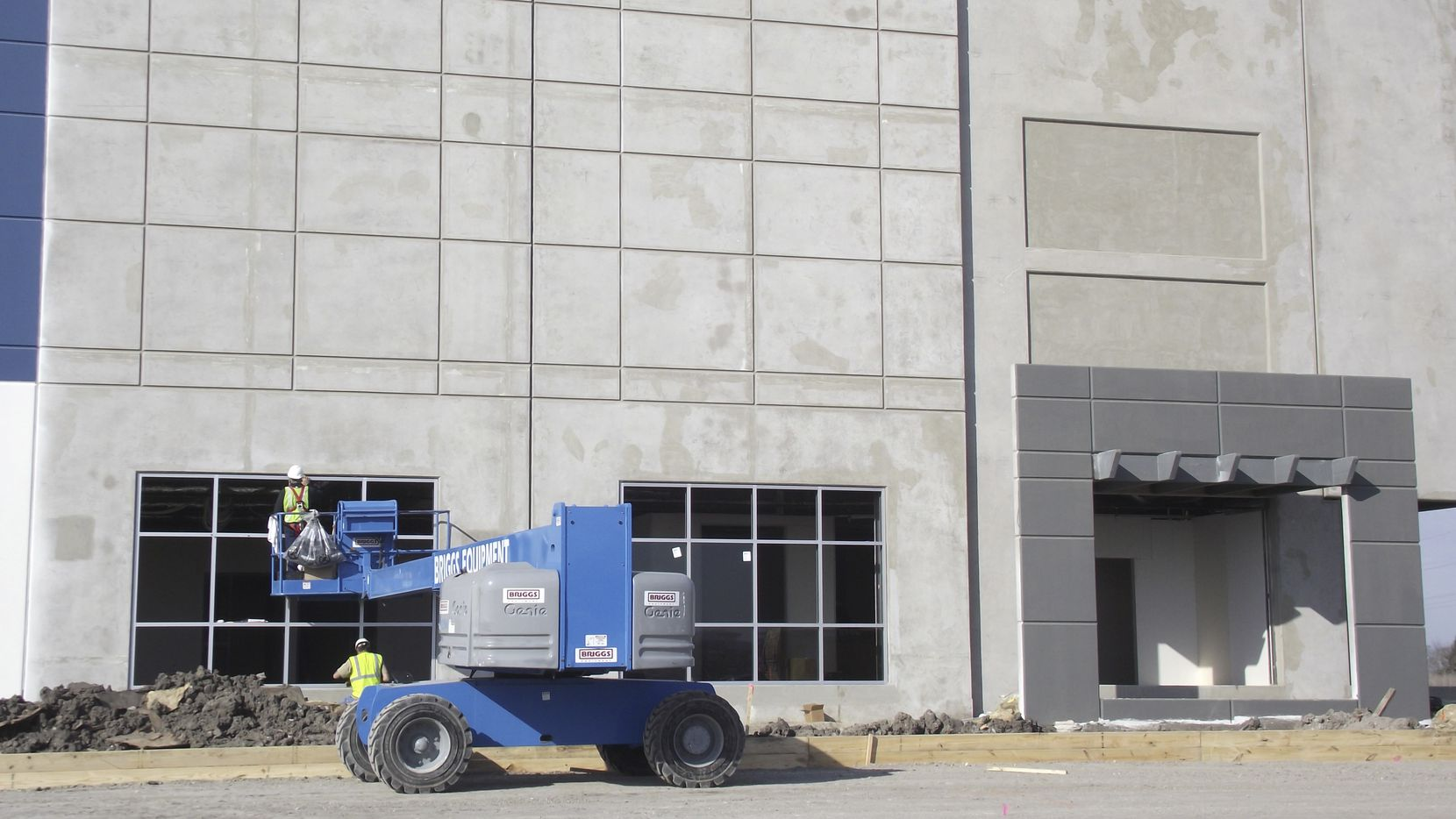 More than 17 million square feet of warehouse space is being built in North Texas.
