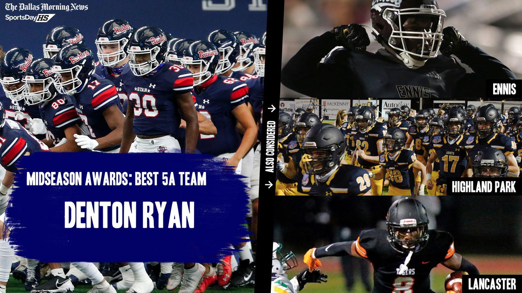 The Dallas Morning News' midseason awards for the 2020 football season: the best 5A teams.