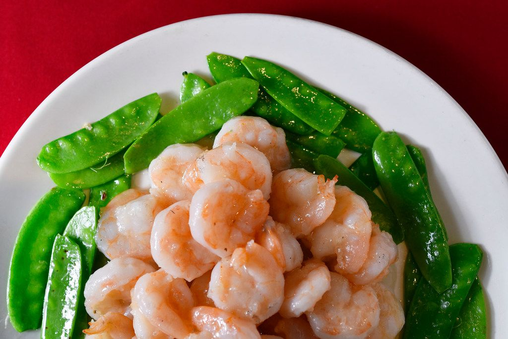 A dish of crystal shrimp from Royal China restaurant in Dallas on Dec. 17.