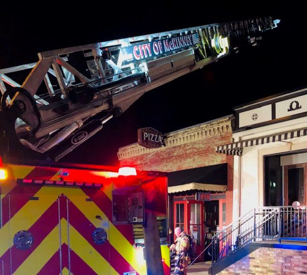 McKinney firefighters responded to a call at Cadillac Pizza Pub in downtown McKinney late Saturday night. While there were no injuries, the restaurant remains closed.