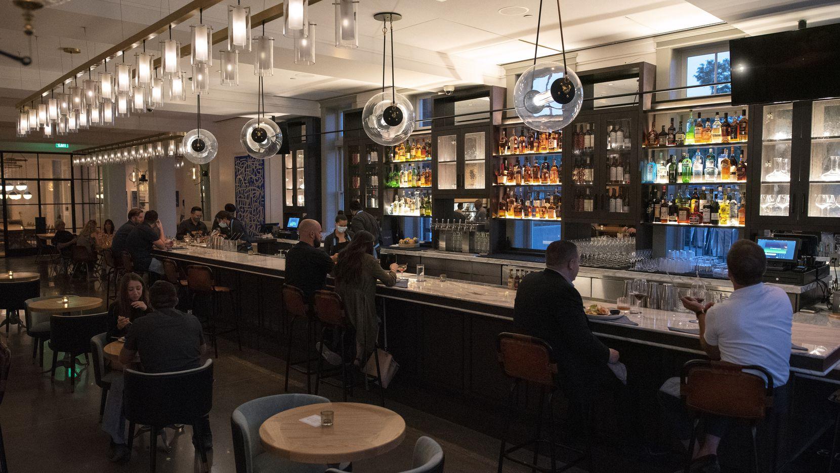 Elm & Good is located inside the new Kimpton Pittman Hotel in Deep Ellum. It opens Aug. 12, 2020.