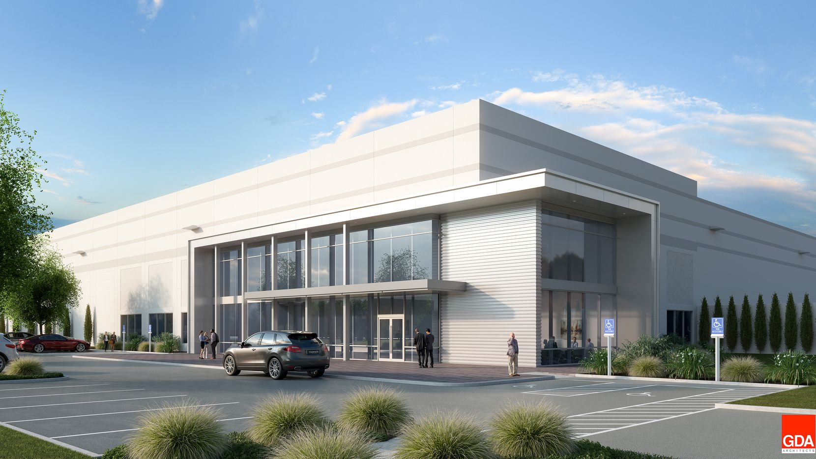 Developer Hillwood is starting more than 1 million square feet of speculative warehouse space in its AllianceTexas development North of Fort Worth.
