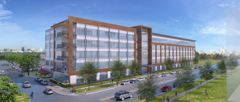 Blucora has rented three floors in the new 3200 Olympus building in Cypress Waters.