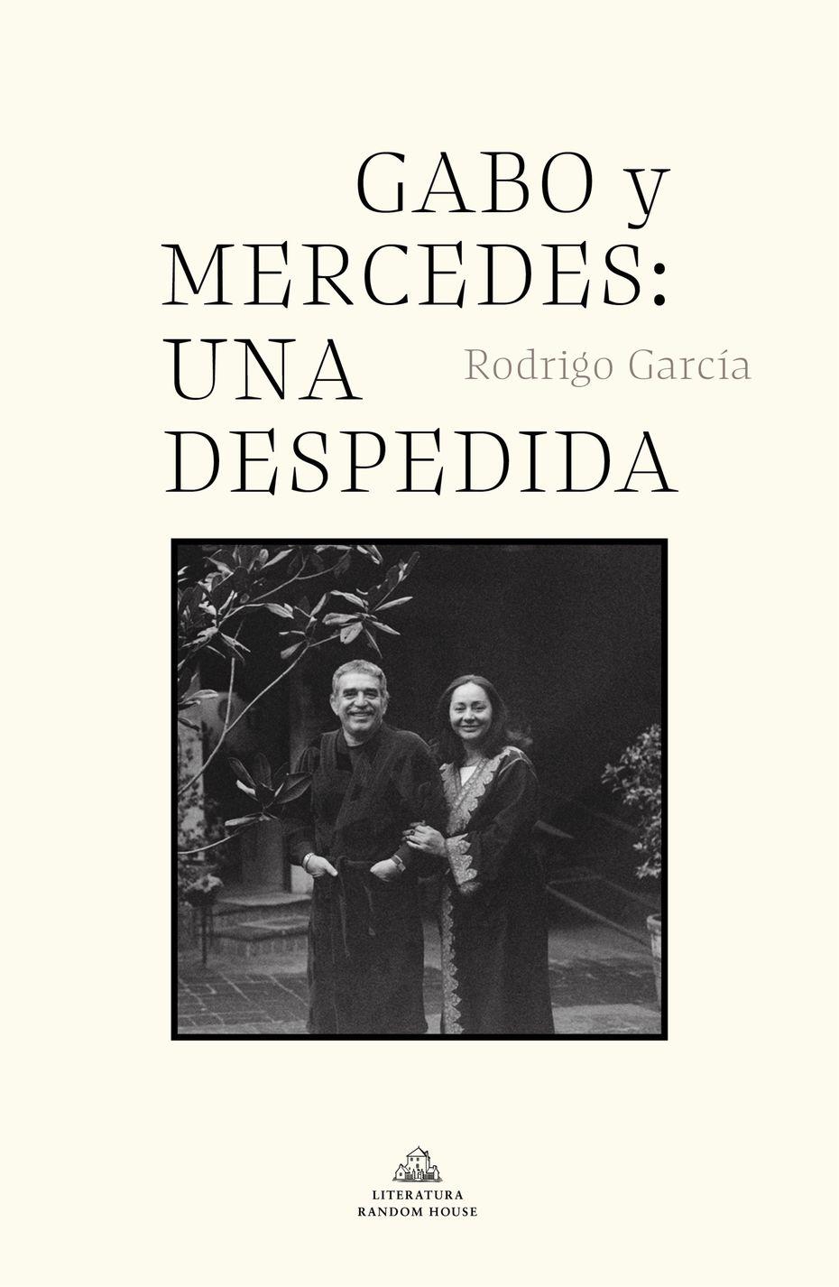 """En esta imagen proporcionada por Penguin Random House Grupo Editorial la portada de """"Gabo y Mercedes: Una despedida"""" de Rodrigo García."""