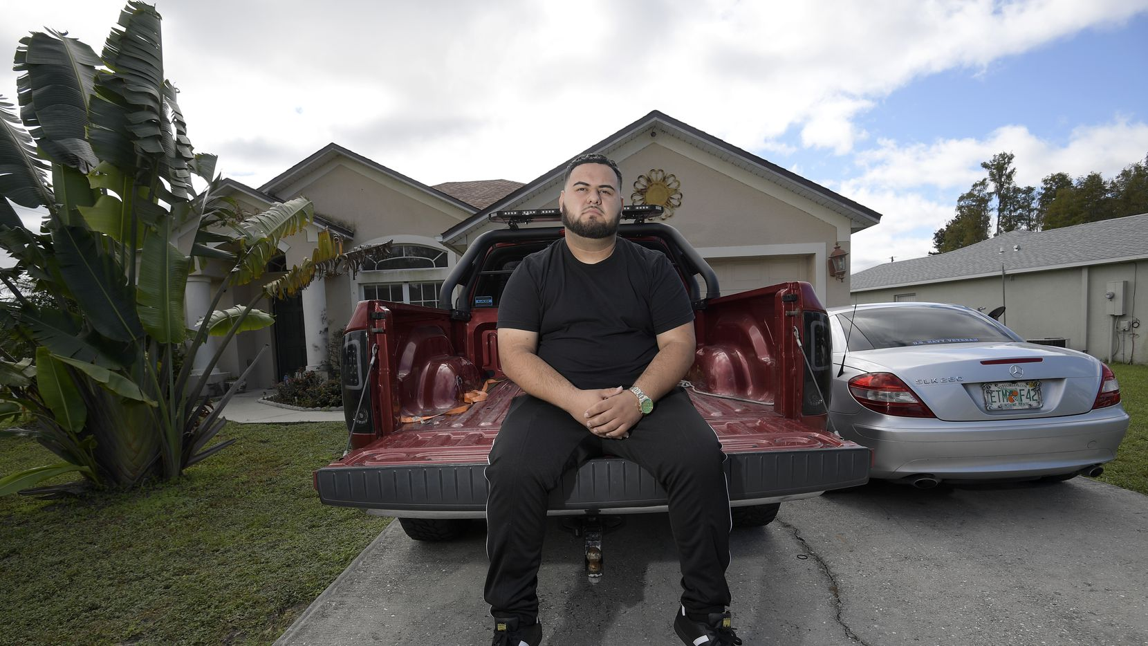 Brandon Gonzales has moved in with his mother in Poinciana, Fla., after fleeing unwanted notoriety after a mass shooting in his hometown of Greenville.