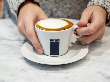 """We always have a cafe [at Eataly] because it's such a fundamental part of Italian culture,"" says Alex Saper, Eataly USA business partner. Caffè Lavazza in Dallas seats about 30 people and is designed either for people who want to stop in quickly to grab coffee, or for those who want to stay a while."