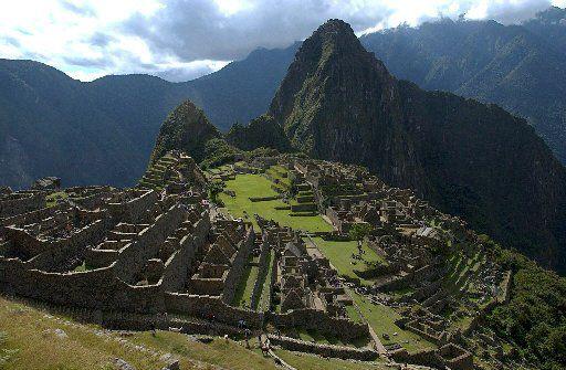 El parque arqueológico de Machu Picchu. (ARCHIVO)