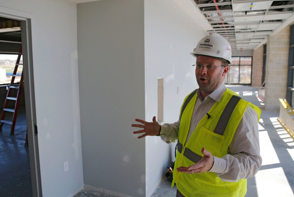 Dan Hunt, president of FC Dallas, talked Thursday about the new club suite that has been added to Toyota Stadium in Frisco.